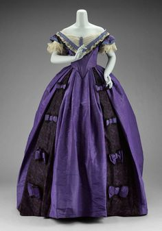 Defunct Fashion — Ball Gown | c. 1860s