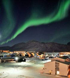 Northern Lights in Nuuk, Greenland (Bring a tent, camping is free, cook your own food when you stay in hostels, bring a map & guide your own trip, rent a bike, talk to locals you can barter anything w/ a carton of cigarettes)