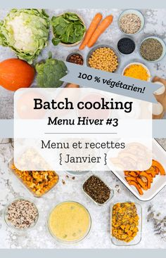 Batch Cooking Hiver Batch cooking (menu and recipes) for week 2 (January) Keto Crockpot Recipes, Baby Food Recipes, Diet Recipes, Recipes Dinner, Keto Meal Plan, Diet Meal Plans, Plats Healthy, Healthy Breakfast For Kids, Vegetarian Menu
