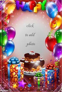Happy Birthdays 🎈 - 2015 June - Happy birthdays (With images) Animated Happy Birthday Wishes, Happy Birthday Greetings Friends, Happy Birthday Wishes Photos, Happy Birthday Frame, Happy Birthday Cake Pictures, Happy Birthday Video, Happy Birthday Celebration, Birthday Blessings, Birthday Frames