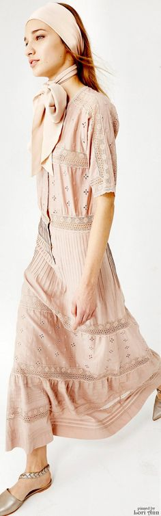 Ulla Johnson Pre-Fall 2016 women fashion outfit clothing style apparel @roressclothes closet ideas