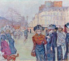 Pierre Bonnard - Place Clichy, 1906/1907