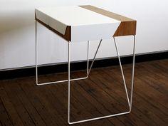 'Unfold' Desk | Curve | David, Hardwick, Unfold, Desk, slide-out, workstation, London, Design, Festival