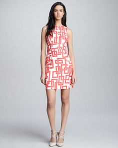 I just bought this from bergdorfs- thoughts?!?!?   Milly Bri Geometric-Print Dress