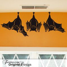 Wall Decal Bats Just Hanging Around