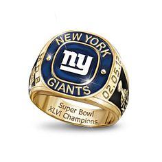 Giants Super Bowl ring.
