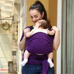 bfc968aa40 Comfortable Fashion Infant Sling Soft Natural Wrap Carrier Kids Backpacks