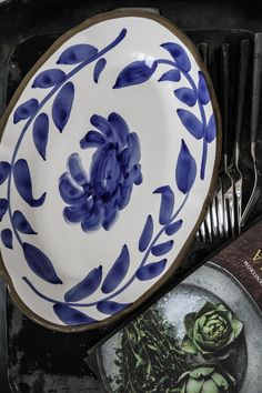 Agneta Livijn   Fiore serveringsfat oval   Matilde & Co   Handla online