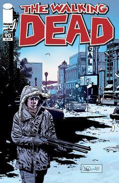 Capa da Edição #90 de The Walking Dead
