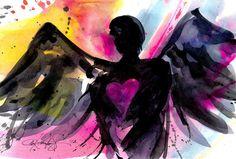 Angel No.24  Original by Kathy Morton Stanion