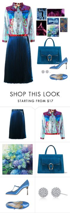 """March To The Beat Of Your Own Drum"" by jacque-reid ❤ liked on Polyvore featuring N°21, NIGHTMARKET, Gucci and Pollini"