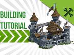Minecraft: How to Build A Medieval Castle - Build Tutorial - (More info on: http://LIFEWAYSVILLAGE.COM/how-to/minecraft-how-to-build-a-medieval-castle-build-tutorial/)