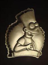 Wilton Cake Pan Treat Mold Bart Simpson Matt Groening Birthday
