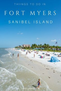 travel idea florida Find the best things to do in Fort Myers Beach and Sanibel Island. There is much more to do than shelling. Beach Vacation Tips, Florida Vacation, Florida Travel, Florida Beaches, Beach Trip, Vacation Ideas, Beach Vacations, Rv Travel, Vacation Places