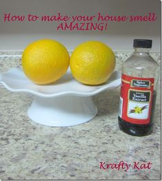 sweet smelling house. good idea!!