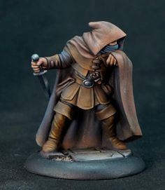 Reaper Miniatures, Fantasy Miniatures, 28mm Miniatures, Fantasy Figures, Fantasy Art, Action Figures, Dungeons And Dragons Figurines, Painting Techniques, Painting Tips