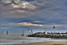 Here come the boats...  by Amy Delaine on 500px