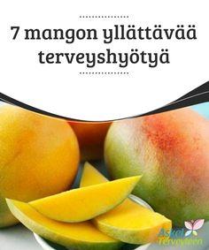 7 mangon yllättävää terveyshyötyä   Mango päivässä voi pitää #lääkärin loitolla! Opi kaikista tämän herkullisen ja #ravinteikkaan trooppisen #hedelmän hyödyistä.  #Terveellisetelämäntavat