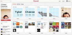 Un bel exemple de CV de créatif sur Pinterest