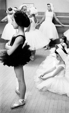 Cynthia Gregory, the original 'Black Swan', Children's Ballet Company, 1953