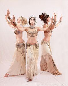 The ladies of Apsara- love the vintage glam