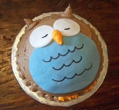easy owl cake Food to Make Pinterest Easy owl cake Owl cakes