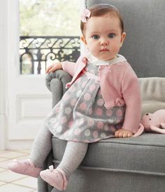 Dress -- Call to order: Source by girl outfitsDots Dress -- Call to order: Source by girl outfits Mayoral Coleccion Recién Nacido Otoño Invierno 2017 - Outfit Kids Baby Girl Dresses, Baby Outfits, Baby Dress, Dot Dress, Toddler Outfits, Pink Dress, Cute Baby Girl, Cute Babies, Baby Kids