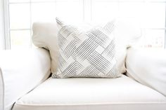 Sable Woven Pillow Cover by WhiteHavenDesigns on Etsy