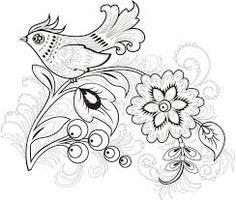 Картинки по запросу Пермогорская роспись «Цветы, травы писать – добра, счастья искать»