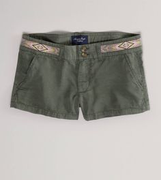 AE Embroidered Shortie