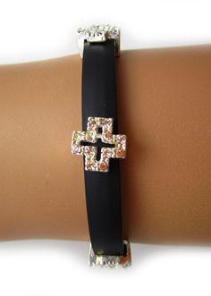 Cross Band Bracelet from Ava Adorn