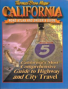 California Road Atlas and Driver's Guide 1997 Spiral Bound Paperback