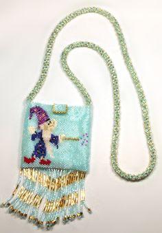Designer Jewelry - Gail Devoid Wizard & Fire Amulet Bag
