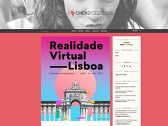 Realidade Virtual Lisboa  Conference & Hackathon  16 to 18 JUN 2017 @Lisbon by Chicas Poderosas