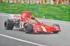 Arte: March 711 F1, di Enrico Niccolini