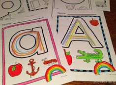 Frog Spot: Rainbow Writing the Letters of the Alphabet