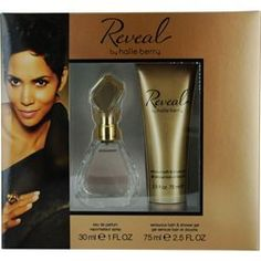 Reveal 2 Piece Set By Halle Berry - 1 oz Eau de Parfum Spray + 2.5 oz Sensuous Bath and Shower Gel (GREAT FOR MOTHERS DAY GIFTS) by HALLE BERRY REVEAL. Save 56 Off!. $12.25. Fragrance Notes: Melon and peach notes dominate this fruity, floral fragrance, with hints of neroli, cashmere and cedar. Recommended Use: casual. Design House: Halle Berry. HALLE BERRY REVEAL by Halle Berry for WOMEN EAU DE PARFUM SPRAY 1 OZ & SHOWER GEL 2.5 OZ Launched by the design house of Halle Berry in 2010