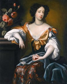 Mary of Modena, Queen of England and the reason the Stuarts are not on the throne. Got her James exiled and dethroned. Her son Charles was the Bonnie Prince Charlie in history. Mary Queen Of Scots, Queen Mary, Princess Mary, Queen Anne, British History, Women In History, Roi Charles, Charles James, House Of Stuart