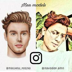 Men Models  Matthew Noszka @matthew_noszka Navdeep Singh @navdeep.amn  classy students Hair And Beard Styles, Instagram Models, Male Models, Fashion News, Hairstyle, Face, Movie Posters, Students, Classy