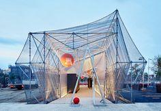 160305_Punt d'Informació/Urbanització Provisional de Glories - Peris+Toral Arquitectes - Barcelona (2014)