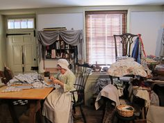 Betsy ross at work