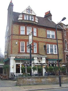 The Clock House, Peckham Rye - my nan lived two doors down from this pub on Barry Rd. It's really lovely in the summertime.