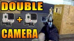 Airsoft video filmed with 2 GoPro cameras. CQB gameplay with pistol.