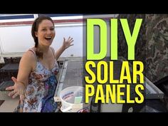 DIY Build Solar Panels Homemade from Scratch, Wiring, Encapsulant Solar Panels For Home, Best Solar Panels, Solar Energy System, Solar Power, Solar Roof Tiles, Alternative Energy Sources, Look Here, Diy Solar, Renewable Energy