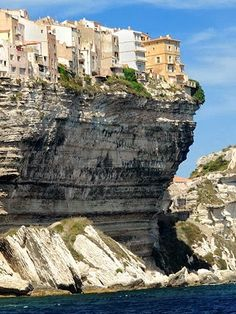 Bonifacio Cliff Top City, Corsica, France