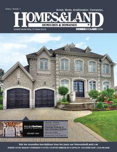 New Issue: Homes & Land Demeures Et Domaines Quebec Canada #homesandlandmagazine