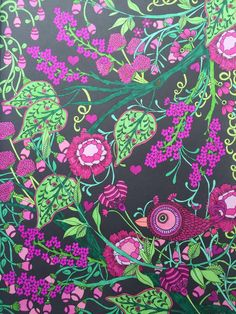 Midnight Garden  Creative Haven - Dover Pub. Prismacolor markers  Colored by Jan Midnight Garden, Dovers, Gel Pens, Prismacolor, Markers, Art Therapy, Stress, Coloring Pages, Sharpies