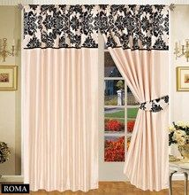 Half Flock with Plain Design Fully Lined Ready Made Pencil Pleat Curtains - Beige with Black - RV Your Price: £19.99 Product Description GORGEOUS & LUXURIOUS Half flock ready made curtains. Frame your windows with a modern style with our elegant half flock fully lined / pencil pleat / tap top curtains.