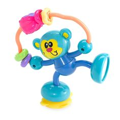 Infantino Stick & Spin Monkey Light Blue - This toy features colorful traveling beads and a spinning ball that rattles, a peek-a-boo mirror and spinning torso that makes a fun ratchet sound. Monkey suctions to high chairs, stroller trays and tables. Stick N Poke Tattoo, Stick And Poke, Balloon Dress, Baby Invitations, Interactive Toys, Buy Buy Baby, Toddler Toys, Baby Love