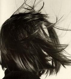 Hannah by David Sims [ Good Head, Hair by Guido. The CV. ]